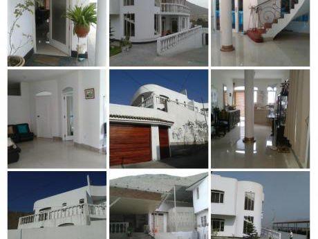 Re/max Alquila Hermosa Casa De 3 Pisos En La Molina