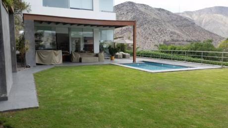 Vendo Preciosa Casa Calle Monte Alegre, La Planicie, La Molina (vista Planicie