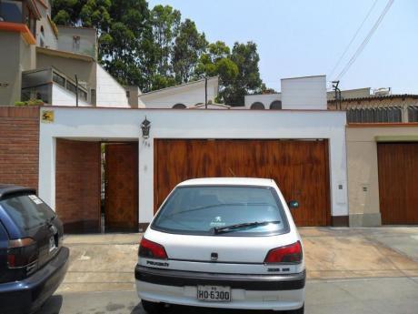 Excelente Casa En Alquiler En Surco, Buena Ubicacion