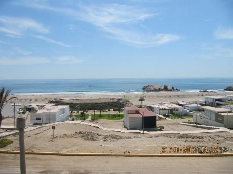 Venta De Lote Con Excelente Vista Al Mar En Condominio Las Palmeras - C5 Lote 04