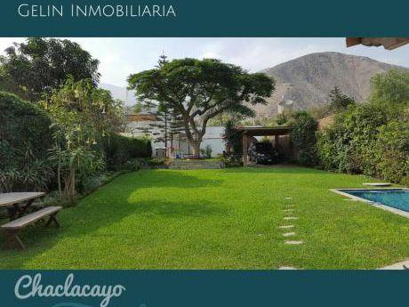 Vendo Casas En Chaclacayo - Excelente Estado