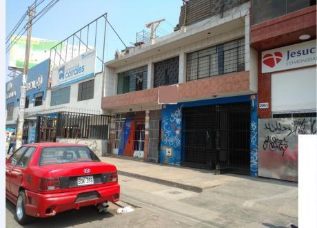 Alquiler Local Proceres De La Independencia Cuadra 20 Sjl