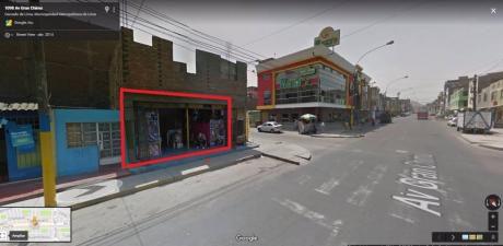 Local Comercial En Esquina, Av Chimù Sjl!