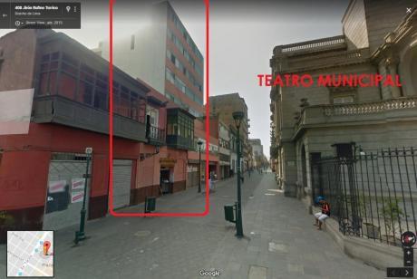 Oficinas En Alquiler En Centro Histórico De Lima – Frente Al Teatro Municipal!