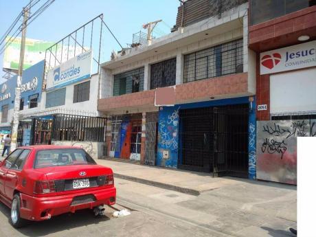 Venta De Inmueble - Local Av Próceres De La Independencia Cuadra 20 Sjl