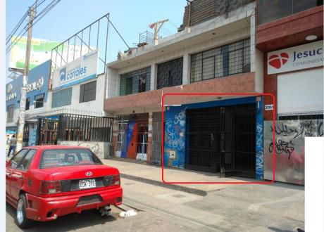 Alquiler Local Av Proceres De La Independencia Cuadra 20 Sjl