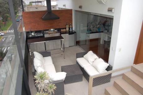 San Borja Penthouse Dúplex De 3 Dorms Con Vistas Al Pentagonito