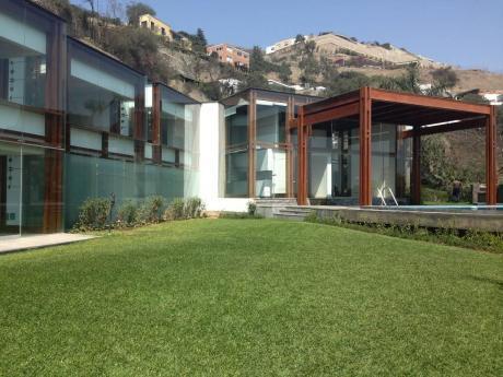 Hermosa Casa En Las Poncianas Casuarinas - Surco