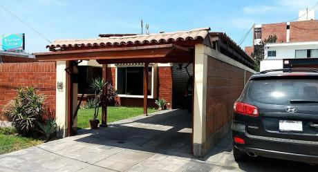 Casa En Condominio Cerrado Con Parque