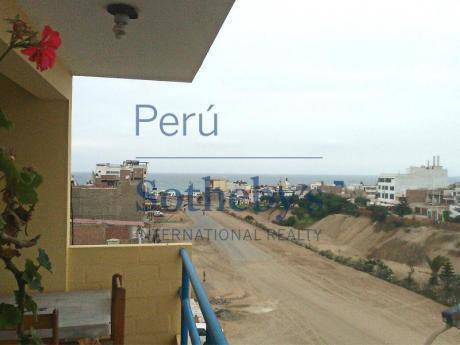 En Venta Hostal En Funcionamiento En Excelente Ubicación Punta Hermosa