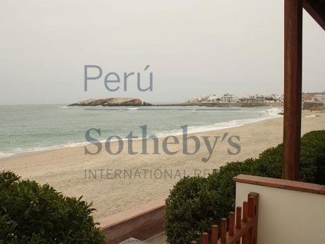 Preciosa Casa De Playa Con Espectacular Vista Al Mar
