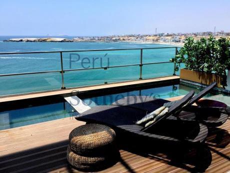 Casa De 3 Niveles Con Vista Directa Al Mar En Condominio Exclusivo Kaia