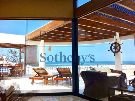 Alquiler Casa De Playa Primera Fila Vista Al Mar