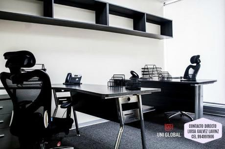 Oficina Panoramica Para 3 Personas, Servicios Incluidos $950 El Derby!