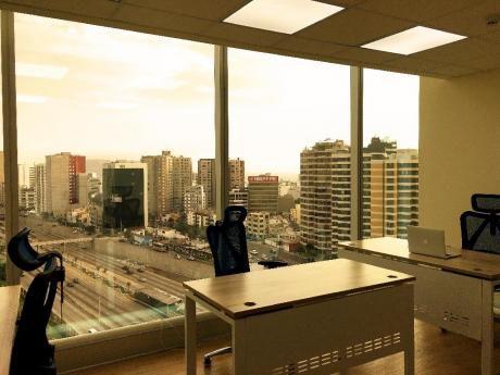 Oficinas En Alquiler Desde $700 Con Sistema Todo Incluido En Miraflores