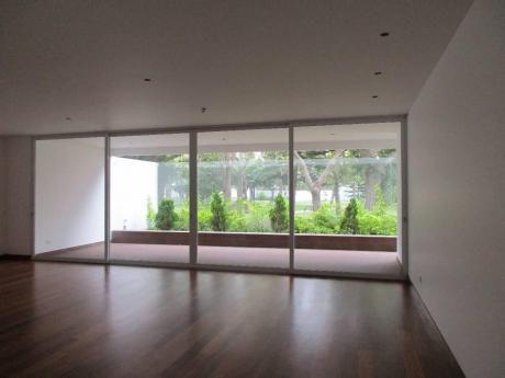 Flat Maravilloso - 313 M2 - 1er Piso - 2jardines Interiores - Frente A Parque - San Isidro