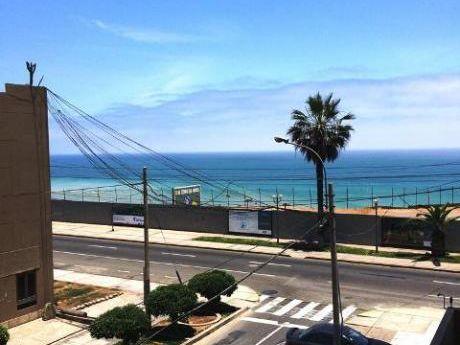 Departamento Duplex Tipo Resort De 48 M2,1 Dorm, Vista Lateral Al Mar San Miguel
