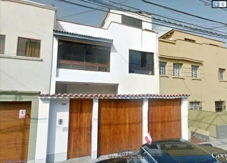 Alquilo Casa De 2 Pisos, Miraflores - Oficina A Puerta Cerrada