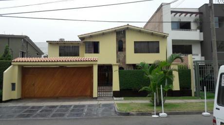 Hermosa Casa Excelente Zona De La Molina