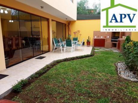 Preciosa Casa En La Molina Remodelada