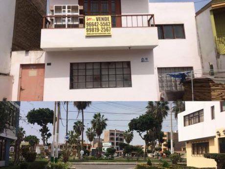 Ocasión Venta Casa Por Remodelar Negociable Vista A Parque En La Perla