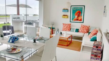 Asia. Casa De Playa. Tres Niveles. 4 Dorm.. Piscina Y Deck