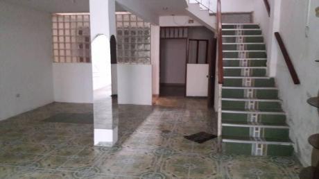 Villa El Salvador: Casa En Venta. Dos Niveles. Estructura Para 4 Pisos