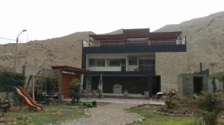Vendo Hermosa Casa En Cieneguilla Distribuido En 3 Amplios Departamentos