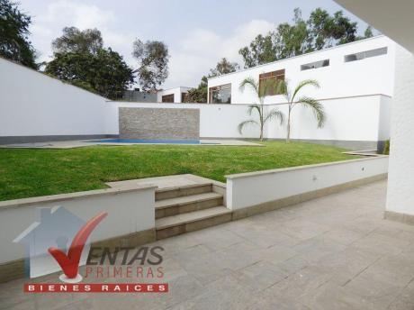 Excelente Casa En Venta Rinconada Alta, Estreno, Modernos Acabados, At.600 M2,