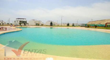 Terreno Casa De Playa Dentro De Condominio Exclusivo En Venta, Areas Comunes