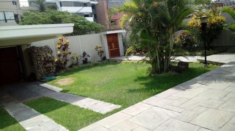 Linda Casa En Calle Buena Vista Urb. Chacarilla - San Borja
