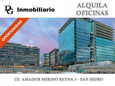Alquila Oficina Implementada De 42 M2 En Edificio Amador Merino Reyna 3