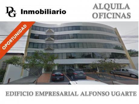 Alquiler Oficina Implementada 92 M2 Ce Alfonso Ugarte - Miraflores