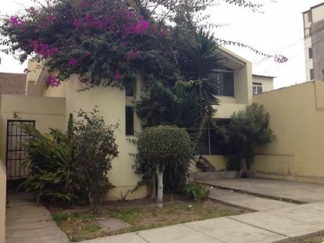 Vendo Casa Como Terreno O Para Remodelar En Chorrillos