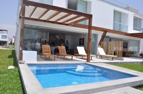 Alquilo Casa De Playa Asia 3ra Fila Mejor Condominio Del Sur