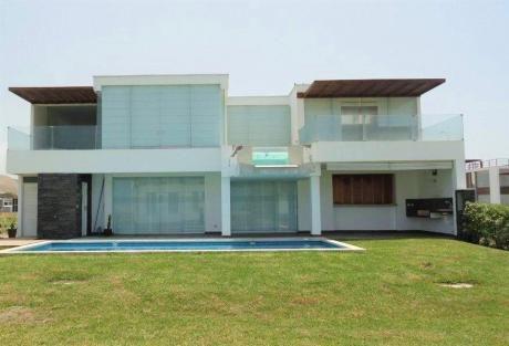 Casa De Playa En Condominio Puesta Del Sol, Asia, Chocalla