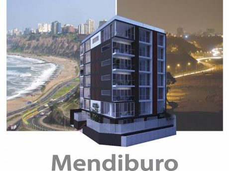 Moderno Edificio En Mendiburu - Miraflores