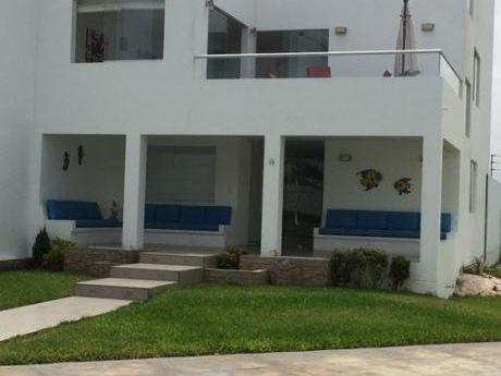 Venta De Casa De Playa Amoblada En Condominio Moravia I