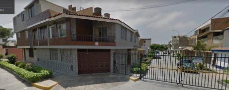 Vendo Amplia Casa En Esquina Ubicada En Jiron Ucayali - La Perla