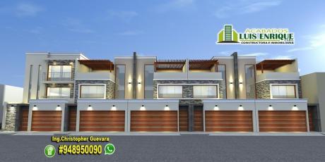 Casa 3 Pisos, Estreno,05 Habitaciones, Cochera Doble,210 M2, San Isidro
