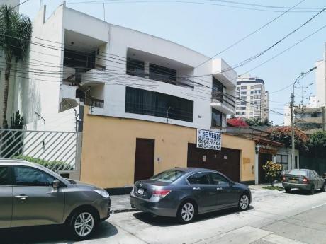 Venta Casa Miraflores (san Martin) - Casa Comercial Cz Amplios Ambientes + Sótano