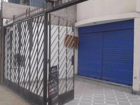 Excelente Local Comercial En Av Huarochiri En Ate Límite Con La Molina