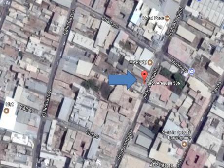 Venta Terreno 1,580 M2 - Jr. Arequipa - Piura