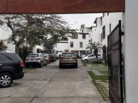 Surco Chalet En Condominio X Jockey Plaza