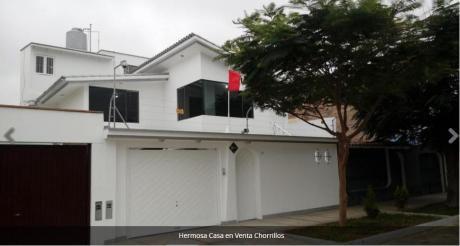 Hermosa Casa En Venta Chorrillos