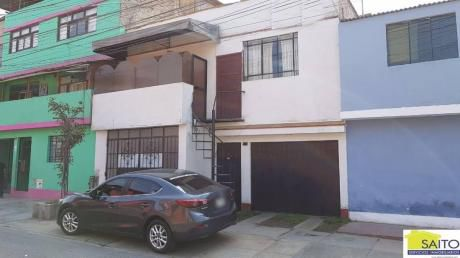 Venta De Casa En San Juan De Miraflores, Av Tomas Guzman