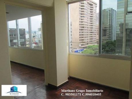 Alquilo Oficina En Miraflores - 80 M2 Av Pardo Excelente Ubicacion Comercial