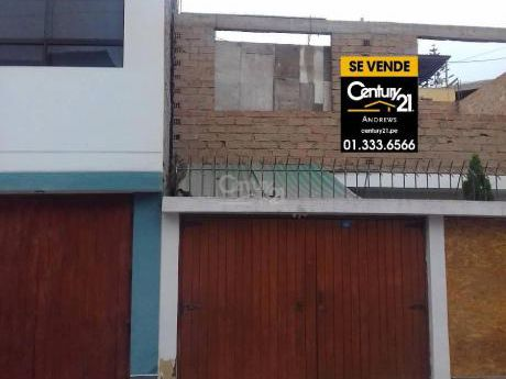 Casa/terreno En Venta - Chorrillos - CC