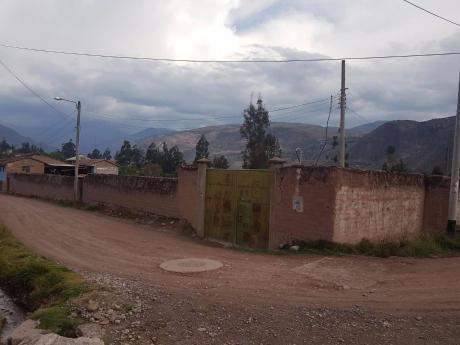 Valle Sagrado Espectacular Terreno Cercado En Urubamba