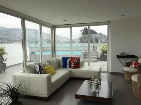 Venta De Moderno Duplex 4 Dorm. + Piscina + Bbq + Family Room Monterrico